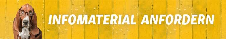 Infomaterial anfordern Banner - Tierheilpraktiker